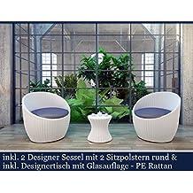 Rattan Gartenmöbel Weiss sdatec.com