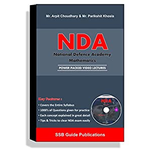 SSB Guide NDA – Mathematics Full DVD Course (DVD)