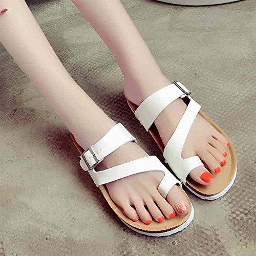 Estate Sandali Studente insacca i sandali del piede Confortevole antiscivolo Colore / formato facoltativo Bianca