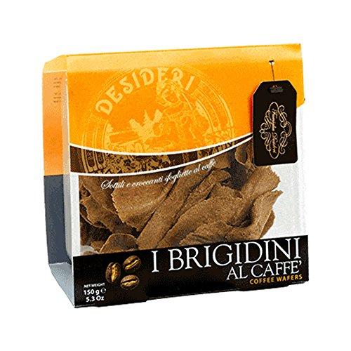 600 GR BRIGIDINI AL CAFFE' DI LAMPORECCHIO COFFEE WAFER SOTTILI E CROCCANTI SFOGLIETTE