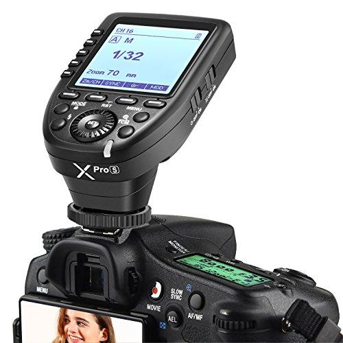 Neewer Xpro-S TTL Funk Blitzauslöser 1/8000s HSS 5 Dedizierte Gruppentasten 11 Anpassbare Funktionen Kompatibel mit Sony Kamera NW880S NW420S TT685S V350S V860II-S Blitz