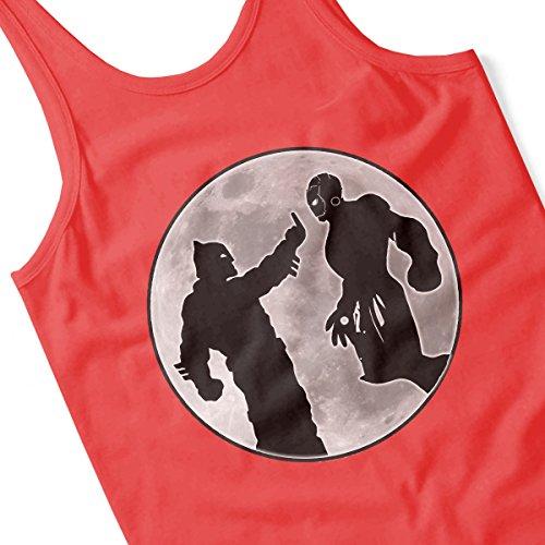 Batman Vs Iron Man Men's Vest Red