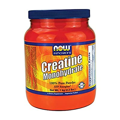 Now Foods, Sports, Creatine Monohydrate, Pure Powder, 2.2 lbs (1 kg) by NOW Foods