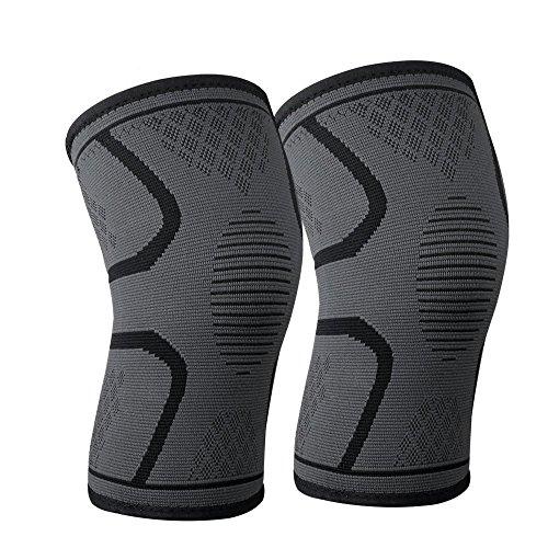 Kniebandage schwarz bandage knie knee sleeves Bandagen männer Damen
