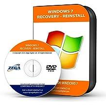 "NEW TOTALCOMPLETE Re INSTALL Repair Restore WINDOWS 7 ""PROFESSIONAL"" Edition 32/64 bit Premium PC Laptop Computer DVD CD Disc Disk"