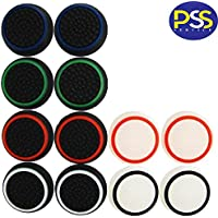 PSS 6 Pairs/12 PCS Replacement Silicone Analog Controller Joystick Thumb Stick Grips Caps Cover for PS4 PS5 XBOX SERIES…