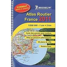 Atlas routier et touristique France format boîte à gants : 1/200 000
