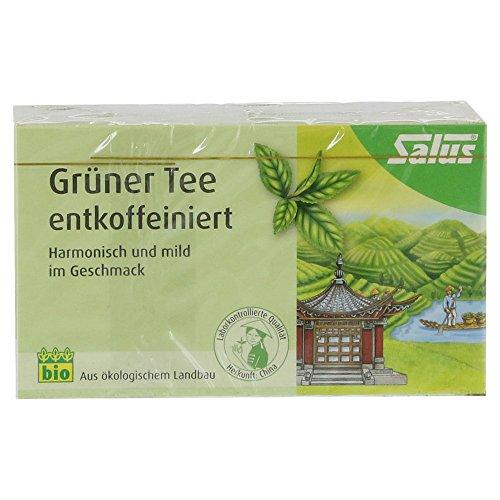 Grüner Tee Entcoffeiniert Bio Salus Filterbeutel 15 St