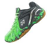Yonex Super Ace Light Badminton Shoes, UK 9 (Light Bright Green/Dark Grey)