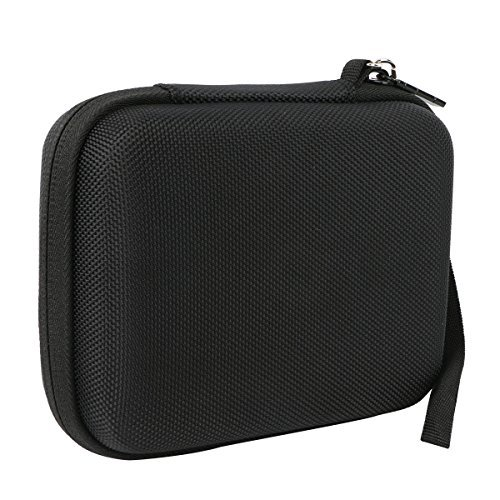 Khanka Carrying Travel Hard Case For Logitech HD Pro Webcam C920. For Polaroid 8 Heavy Duty Mini Tripod - Black  available at amazon for Rs.2099