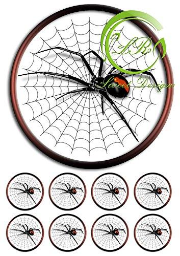 Spinne Spider Tortenaufleger,Geburtstag,Tortendeko Ca. 20Ø … (Oblatte)