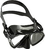 Cressi Erwachsene Maske Ocean, Schwarz, DN295050