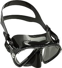 Cressi Ocean Masque de Snorkeling/Plongée/Chasse Sous-marine Noir