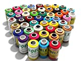 GOELX Silk Thread - 50 Pieces