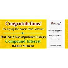 Practice Guru Short Tricks and Notes on Quantitative Techniques - Compound Interest (Voucher)