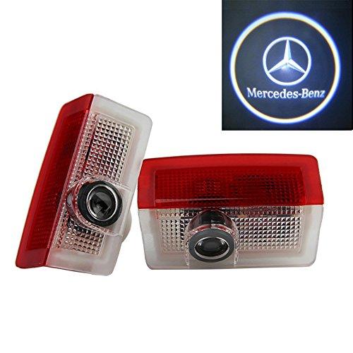 Grolish 2 pezzi illuminazione Entry proiettore logo luce per LED Ombra Luce di benvenuto