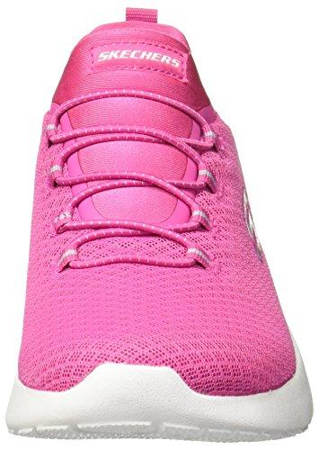 Skechers Damen Sportschuhe Dynamight Schwarz Pink