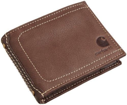 Carhartt Pebble Passcase Wallet, 61-2201.BRN, braun, 61-2201 (Braun Wallet Passcase)