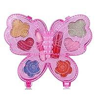 Ahagogo Glamour Girl Washable Makeup Toy Set NON TOXIC for Children - Great for Little Girls & Kids