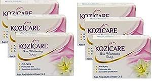 Healthvit Kozicare Skin Whitening Soap, 75g (Pack of 6)