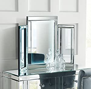 MY-Furniture - Mirrored Bedroom furniture-Triple Led ...