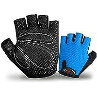 GYPO Barbecue Handschuh Zyklus Handschuhe Half Finger Light Pad Gewichtheben Handschuhe Reiten Radfahren Handschuhe für Frauen und Männer Sporthandschuhe (L) Grillen Handschuhe