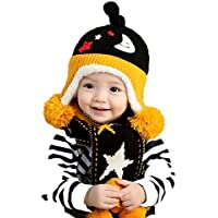 Autunno inverno caldo ispessimento Knitting due pezzo cappello sciarpa , 3