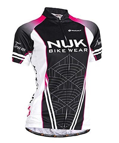 Bike Sports Black Women's Garment Summer Short Sleeve Cycling Jersey