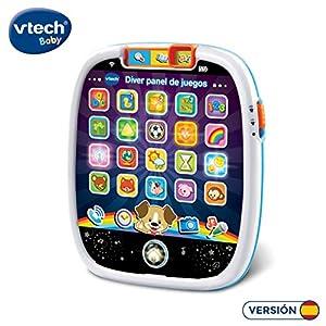 VTech- Diver Juegos Actividades electrónico Interactivo con Panel táctil (3480-602922)