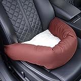 Knuffliger Autositz für Hund, Katze oder Haustier inkl. Gurt und Sitzbefestigung