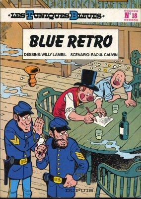 Blue rétro