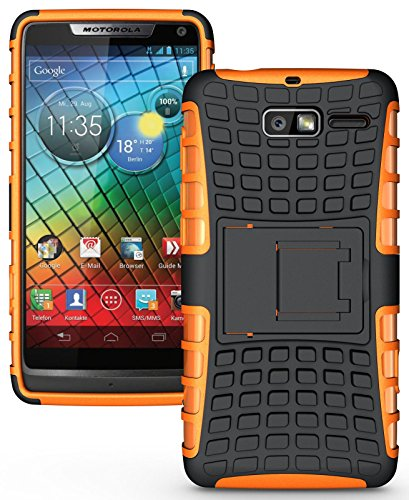 Heartly Armor Motorola Droid Razr M Orange
