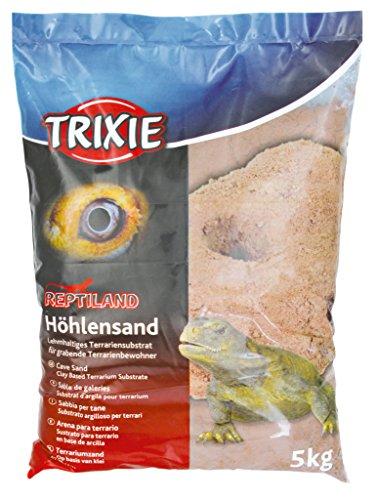 Trixie 76133 Höhlensand für Terrarien, 5 kg, dunkelrot