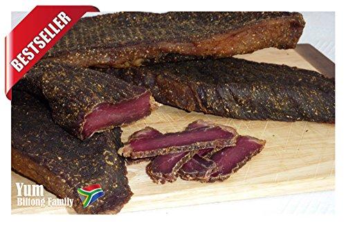 500g Biltong Chilli Piri-Piri, Real South African Style Biltong, EU's BEST Seller