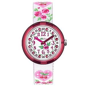 FlikFlak Mädchen Analog Quarz Uhr mit Stoff Armband FPNP007