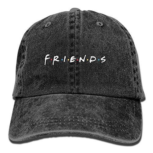 Jxrodekz Friends TV Show Adult Hats Unisex Fashion Plain Cool Adjustable Denim Jeans Baseball Cap Cowboy 6471