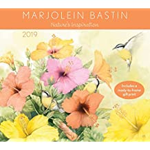Marjolein Bastin 2019 Deluxe Wall Calendar: Nature's Inspiration