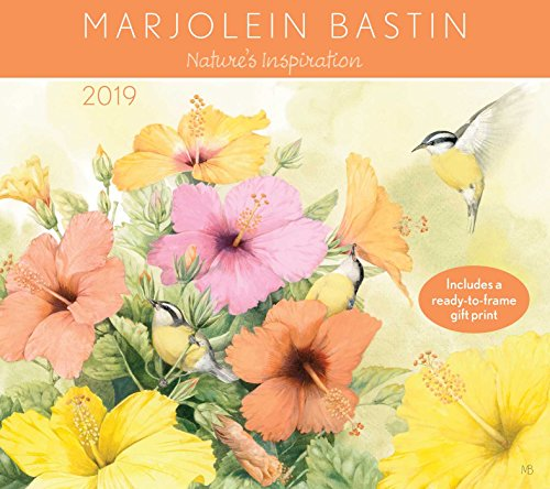Marjolein Bastin 2019 Calendar: Nature's Inspiration