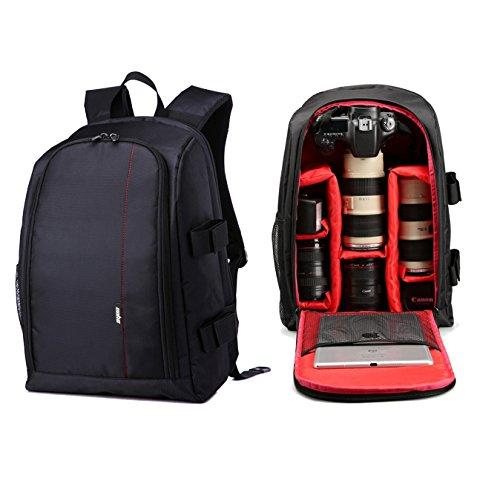 Sac à dos pour Appareil Photo Reflex Accessoires Durable et Imperméable