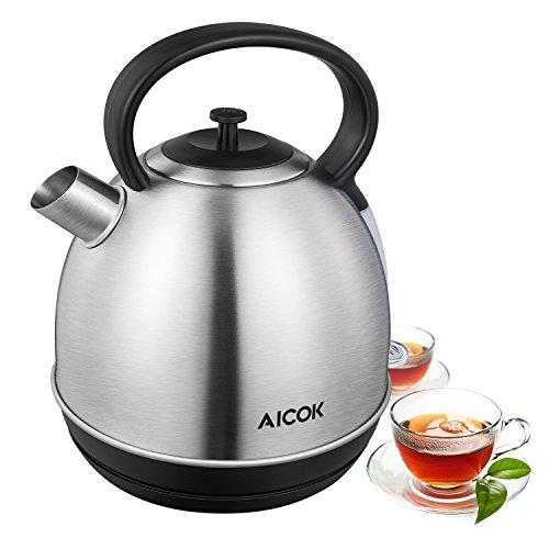 Aicok-Hervidor-de-agua-elctrico-con-2200W-Acero-inoxidable-Hervidor-con-Strix-thermostat-15L-Tetera-elctrico-libre-de-BPA-Plateado