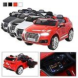 Kinder Elektroauto Audi Q7 2017 Original Lizenz Kinderauto Kinderfahrzeug Elektro Auto Spielzeug Für Kinder (Rot)