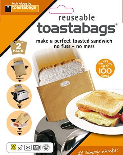 Tostabags, 2 Bolsas Tostar 100 Usos, Paquete Doble