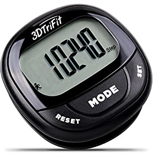 51FxpEoSdRL. SS300  - Realalt 3DTriFit 3D Pedometer Activity Tracker   Accurate Pedometer for Walking with Pause Function & 7-Day Memory