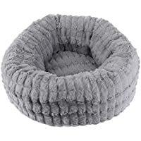 Pet Products Houses, Kennels & Pens Macarons Deep Sleep Cat Nest Kennel Super Soft Plush Puppy Cat Bed Round Mat Pad Pet Kitten Dog House Cushion For Small Dogs