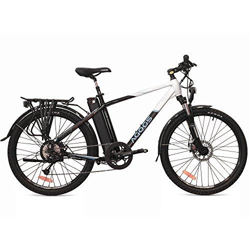 AGOGS MTB Uphill Tour 26 Zoll Elektrofahrrad Mountainbike 48 cm Alurahmen Bafang Motor 250W 48V 560Wh Sony Konion V3 XL Akku Shimano Deore 9 Gang mechanische Scheibenbremsen E-MTB E-Bike Pedelec