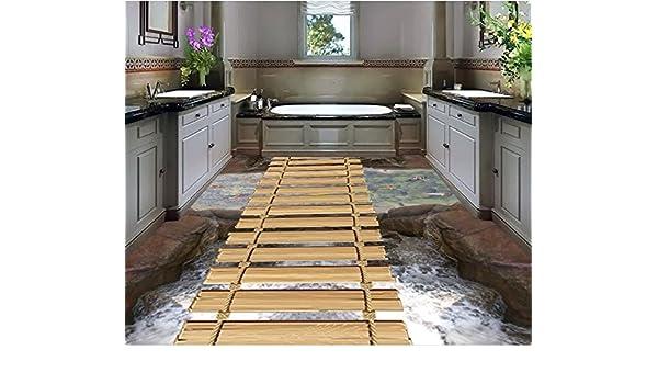 Fußboden 3d Gratis ~ Malilove d stock malerei wallpaper d brücke wasser boden