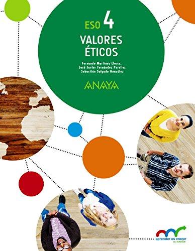 Valores Éticos 4. (Aprender es crecer en conexión) - 9788469811450