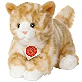 Hermann Teddy Collection 906971 - Plüsch-Katze, 24 cm, rot getigert