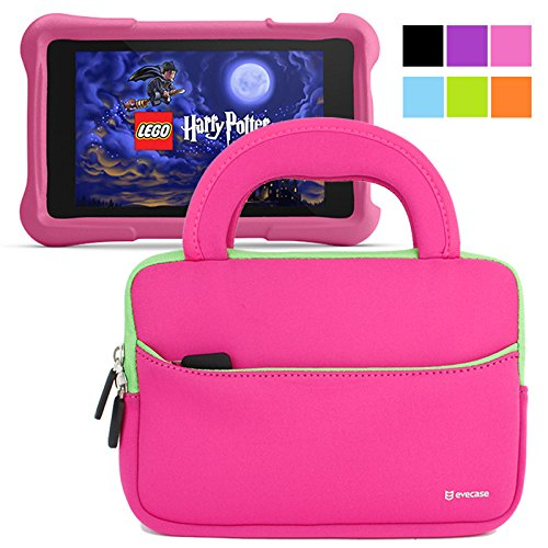 evecase-fire-hd-kids-edition-tablet-sleeve-ultra-portable-handle-carrying-portfolio-neoprene-sleeve-