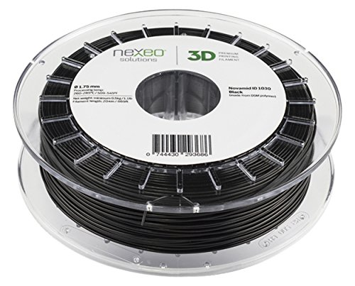 Pa nylon novamid ID 1030 Noir 1.75 mm 500 gr Filament Impression Nexeo Solutions 3d